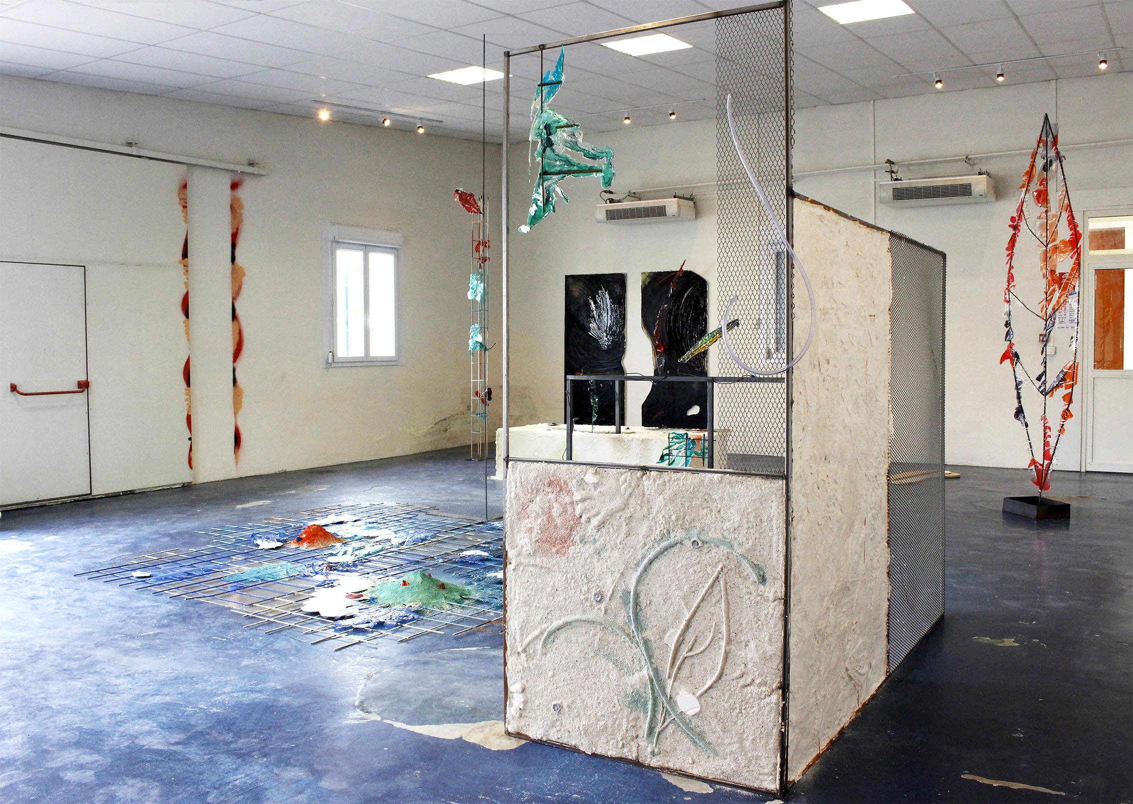 My third eye _ Parc Saint Léger, Centre d'Art Contemporain, Hors les Murs, Dornes ( exposition personnelle)